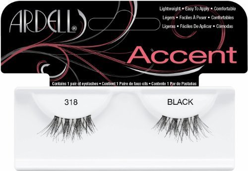 Ardell Duralash Accents False Eyelashes - #318 (Pack of 2) by Ardell