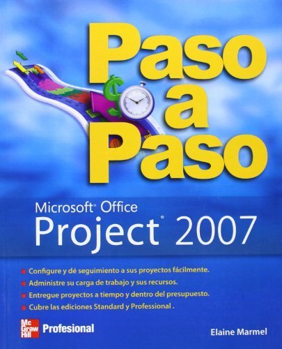 Project 2007 Paso A Paso (Spanish Edition) by Elaine Marmel (2007-08-01)