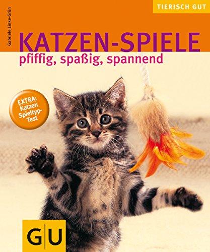Katzen-Spiele, pfiffig, spaßig, spannend gelb 12 x 3,5 cm (Katze Wohnung Und Kratzbaum)