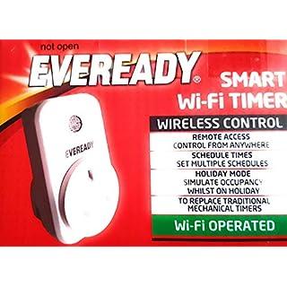 annstory Smart Plug, 2Packungen WiFi Steckdose mit App Steuerung Ihre Geräte von überall WiFi Stecker Kompatibel mit Alexa, Google Home [Energie Klasse A]