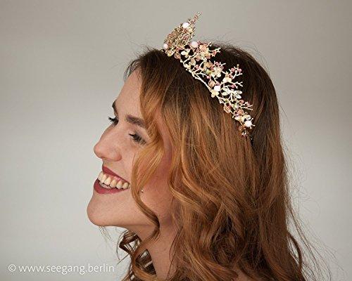 vintage-braut-goldene-tiara-rose