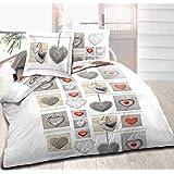 Juego de toallas 160x 200cm + 2almohada Funda de almohada corazón 2juego de, sábana bajera 160x 200cm + 2funda de almohada juego de cama