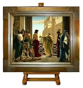 Ecce Homo–Jésus–ciseri Grand encadrée art impression sur toile