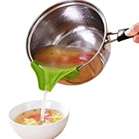 Upspirit Creative Kitchen Gadgets Pour Soup Anti-spill and Leak Soup Deflector Useful Home Kitchen Specialty Tools