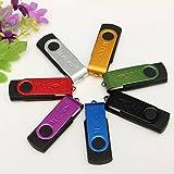 Meco - lápiz USB 3.0, memoria flash, sin tapa, alta velocidad, compatible con Windows y Mac (32.0 GB), color verde