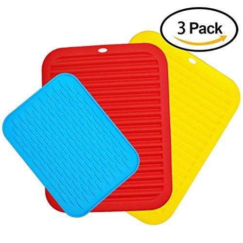 3 Packs Silicone Potholders, CNYMANY 8.5