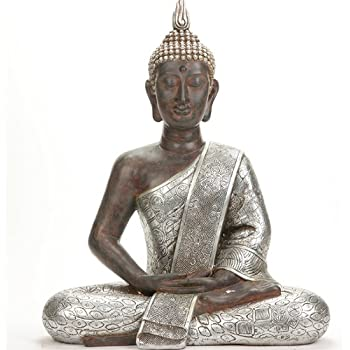 bouddha statue tr s grande 41 5cm jardin pour int rieur et. Black Bedroom Furniture Sets. Home Design Ideas