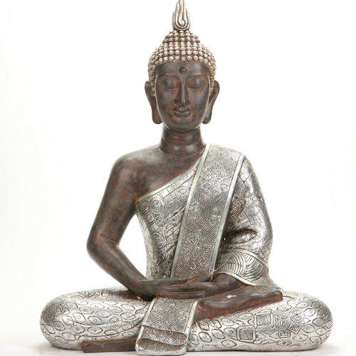 Große Buddha-Statue – Höhe: 62 cm