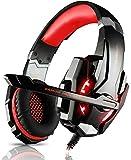 Best Auriculares para juegos para PCs - LESHP Professional Gaming Headset Auriculares para juegos Stereo Review