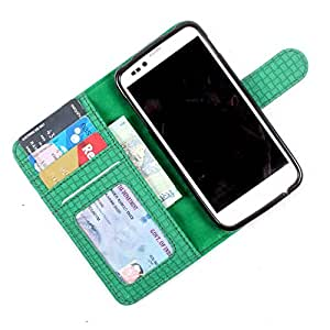 For HTC Desire SV - PU Leather Wallet Flip Case Cover