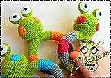 SONAJEROS BEBÉ RANA AMIGURUMI PERSONALIZABLE ( Bebé, crochet, ganchillo, muñeco, peluche,...