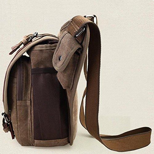 Seite - Ledertasche für Männer kaufen - Schulter Taille - Rucksack kaufen - Qualität Retro Style kaufen