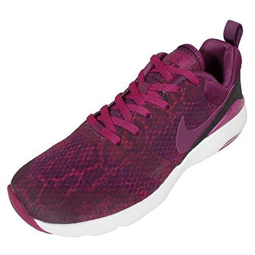 Nike  Wmns Air Max Siren Print, Damen Sneaker UNIVERSITY RED/MTLLC SLVR-BLCK