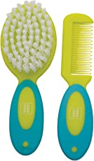 Mee Mee Soft Grip Brush and Comb Set (Green)