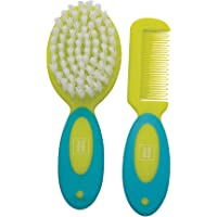 Mee Mee Soft Grip Brush and Comb Set, Green