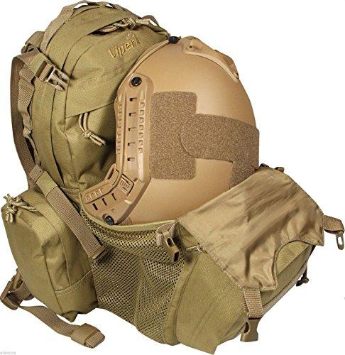 Viper Airsoft Mini Modular Back Pack vari colori Casco Borsa Zaino Trekking, Green Coyote