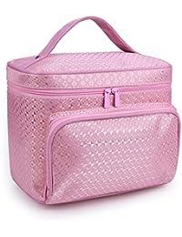 7f0f0f844 lifemaison mujeres multifunción viaje neceser bolsa de cosméticos estuche  de maquillaje bolsa de almacenamiento organizador