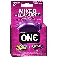 ONE Mixed Pleasure - 3 ausgewählte Kondome inklusive Kondombox preisvergleich bei billige-tabletten.eu