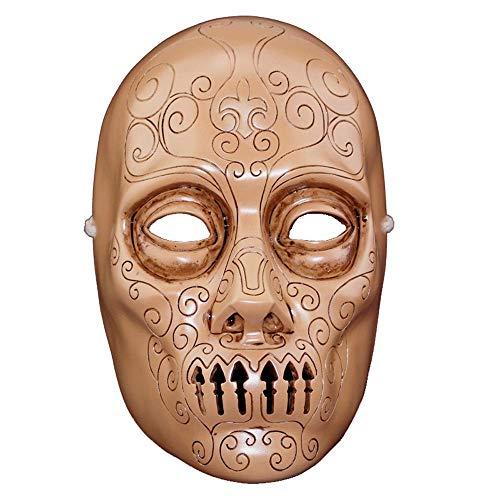 e Harry Potter Zauberstab Todesser Horror Maske ()