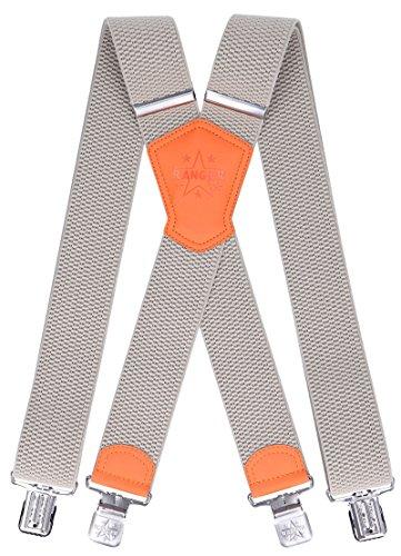 Ranger Hosenträger X Form robust Dx50 (beige 2) (Beige Ski Hose)