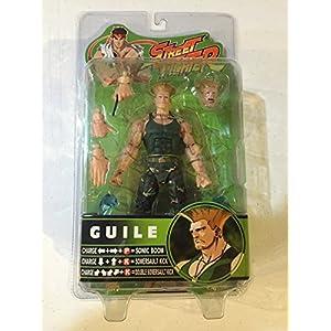 Street Fighter Guile figura articulada 16cm SOTA Toys 3