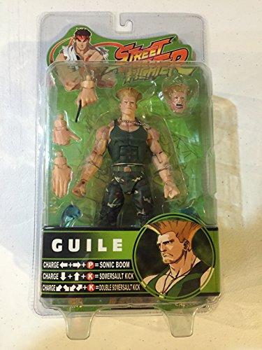 Street Fighter Guile figura articulada 16cm SOTA Toys 1