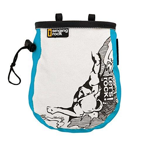 Singing Rock Chalk Bag COMIC, Farbe:blau Singing Rock Chalk Bag