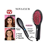 Best Hair Straightener 2 Inches - NOVA CLUB Simply 2 in 1 Straight Ceramic Review