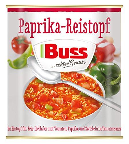 Buss Paprika-Reistopf, 6er Pack ...