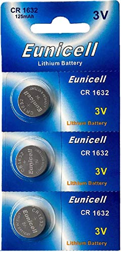 3V Lithium Knopfzelle 120 mAh (1 Blistercard a 3 Batterien) EINWEG Markenware ()