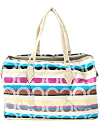 Women's Tote Bag, Printed Women's Round Print Shoulder Bag (Assorted Color And Print)