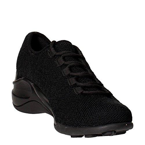 Fornarina PIFSE9550WTA0000 Sneakers Femme Tissu Noir Noir