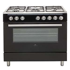 continental edison cecp9060mb cuisiniere noire. Black Bedroom Furniture Sets. Home Design Ideas