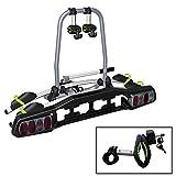 Heckträger VDP-TBA2 Fahrradträger abschließbar für 2 Räder klappbar für Anhängerkupplung mit Quick-Lock