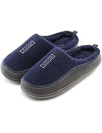 Dunlop - Zapatillas de estar por casa de sintético para hombre, color multicolor, talla 9 UK