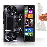 Stuff4 Gel TPU Hülle / Hülle für Nokia X2 Dual Sim / Playstation PS4 Muster / Spielkonsolen Kollektion