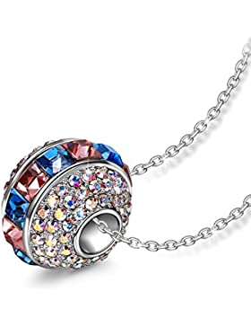 LADY COLOUR - Ferris wheel - Kette Damen mit Kristallen von SWAROVSKI® - PARIS VOGUE Kollektion