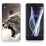 DIKAS BQ Aquaris X/X Pro Hülle, Slim Fit Shockproof Flexible 3D Contemporary Chic Design Ultra Thin Lightest Einfach Grip Durable Flex für BQ Aquaris X/X Pro - Pic: 03