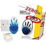Plug In tue les mouches et moustiques–avec LED bleu