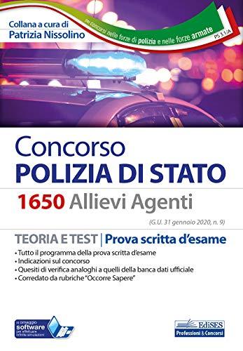 Concorso 1650 allievi agenti Polizia di Stato.