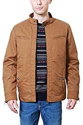 Peter England Brown Regular Fit Jackets_JJK51605284_M