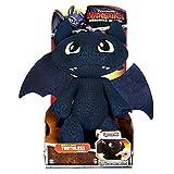 Dragones - dragón de la felpa - Desdentado Toothless con sonido 28x32x14 cm