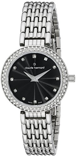 Claude Bernard Women's Watch Analogue Quartz Stainless Steel Rose Gold 20204-357R-B