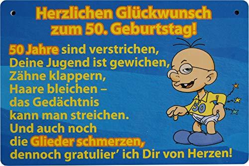 Glückwunsch .50 Jahre Gliederschmerzen ()