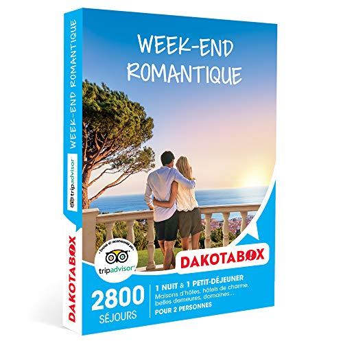 DAKOTABOX - Week-end romantique - Coffret Cadeau Séjour - 1 nuit avec...