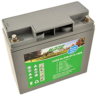 12V 17Ah Haze Sealed Lead Acid (AGM) Mobility Scooter Battery