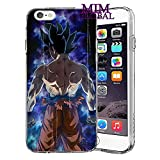 MIM Global Dragon Ball Z Super GT Etuis Coque Case Cover Compatible pour Tous iPhone (iPhone 6/6s, Beast)