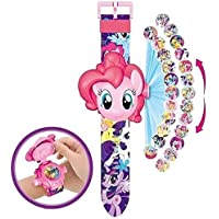 IndusBay® Cute Little Pony Digital Toy Watch with 24 Images Projection and Kitty Theme Cover for Kids - Good Return Gift - for Kids Girls