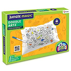 Jungle Magic Doodle Artz Food, White