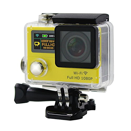 Dual Screen Ultra Slim HD 1080P Aktion Sports Camera Wasserdicht WiFi APP für Smartphones